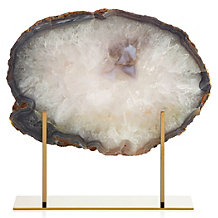 Agate Slab On Stand