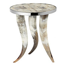 Cheyenne Horn Accent Table