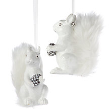 Squirrel Ornament
