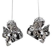 Foo Dogs Ornament - Set of 2