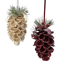 Beaded Pinecone Ornament