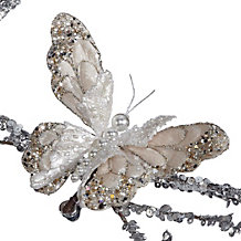 Beaded Butterfly Clip Ornament