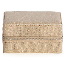 Glimmer Travel Jewelry Box