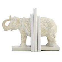 Anika Elephant Bookends