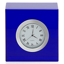 Cube Table Clock