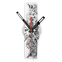 Oblong Gear Wall Clock