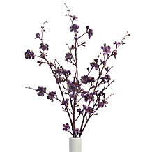 Velvet Blossom Branch - Set of 3