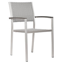 Metro Outdoor Dining Arm Chair