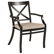 Terza Outdoor Dining Arm Chair