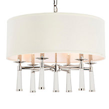Barron Chandelier - Polished Nickel