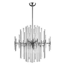 Galaxy Chandelier - Satin Nickel