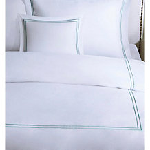 Plaza Duvet Set - Aqua