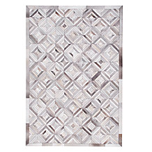 Mercer Hair On Hide Rug - Ivory/...