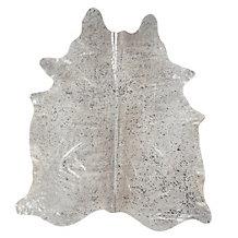 Tanami Hair On Hide Rug - Silver