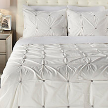 Malden 3 Piece Bedding Set - White