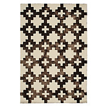 Vereda Rug - Brown/White