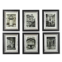 Parisian Scene - Set Of 6