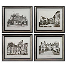 English Scene - Set Of 4