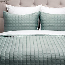 West Street Quilted Coverlet Set...