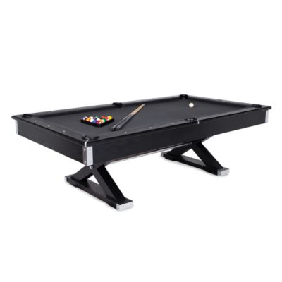 Pool Table   Charcoal Top. Compare Size