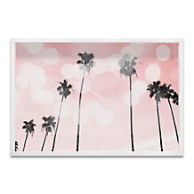 Blush Palm Trees