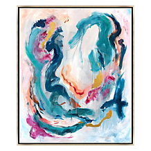 Color And Gold Swirls 3 - Origin...