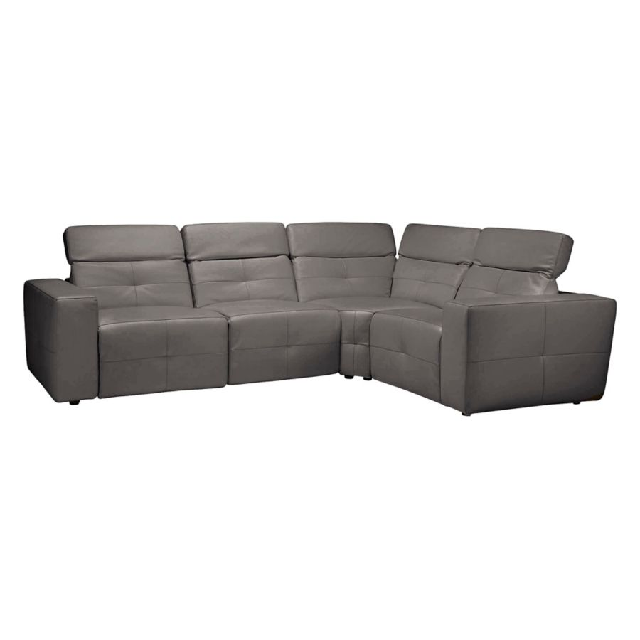 This Review Is Frommilan Reclining Sectional Grey 4 Pc Left Arm Facing By Z Gallerie