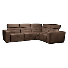 Milan Reclining Sectional - Brown