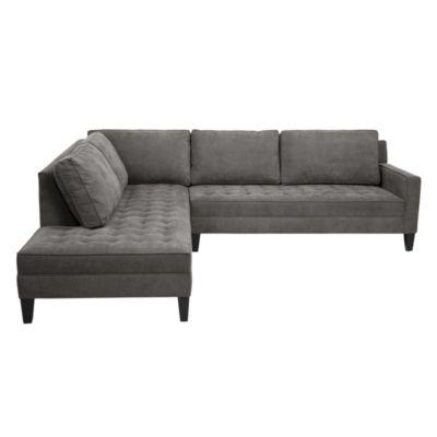 2 Piece Sectional Sofa | Vapor Collection | Z Gallerie