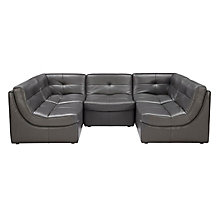 Convo Sectional  5PC - Charcoal