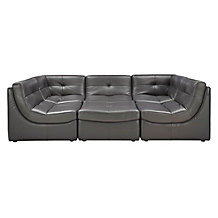 Convo Sectional 6PC - Charcoal