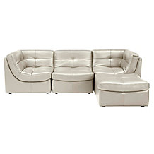 Convo Sectional 4PC - Taupe