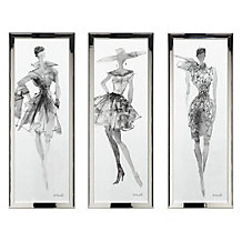 Fashion Sketches - Set of 3
