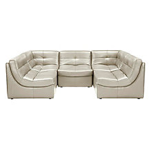 Convo Sectional 5pc Taupe
