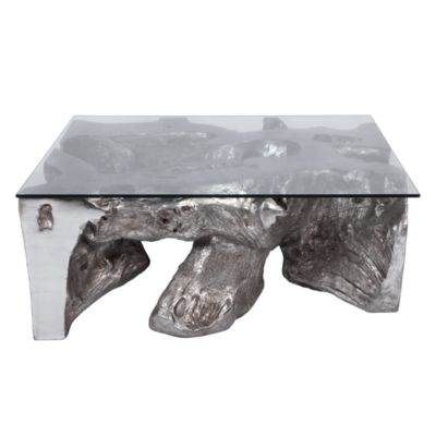 Coffee Table With Glass Top. Compare Size