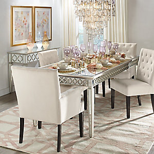 Dining room inspiration z gallerie for Mirror z gallerie
