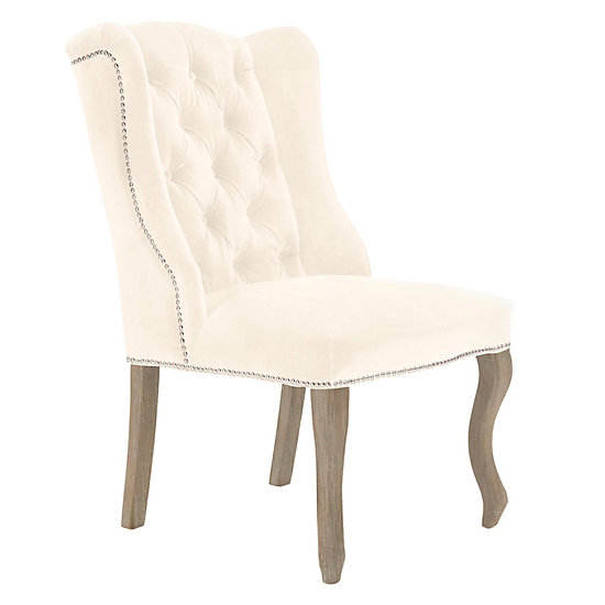 Captivating Archer Dining Chair   Natural Grey