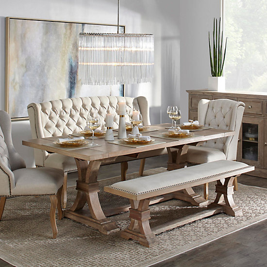 Chic Dining Table Archer Extending Dining Table Z Gallerie