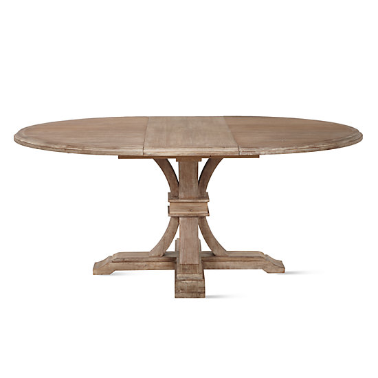 Archer Round Extendable Dining Table Z Gallerie : archer wash oak extending pedestal dining table 9998045221 from m.zgallerie.com size 550 x 550 jpeg 20kB
