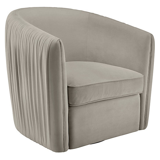 Outstanding Aria Pleated Swivel Chair Season Stunners In Furniture Forskolin Free Trial Chair Design Images Forskolin Free Trialorg