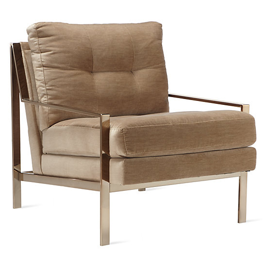 Axel Accent Chair   Champagne