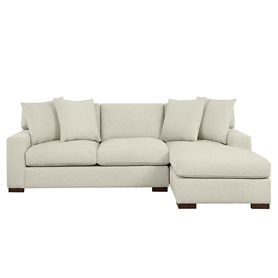 Del Mar Sectional Sofa Chaise Z Gallerie