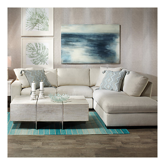 Del Mar Sectional Sofa Amp Chaise Z Gallerie