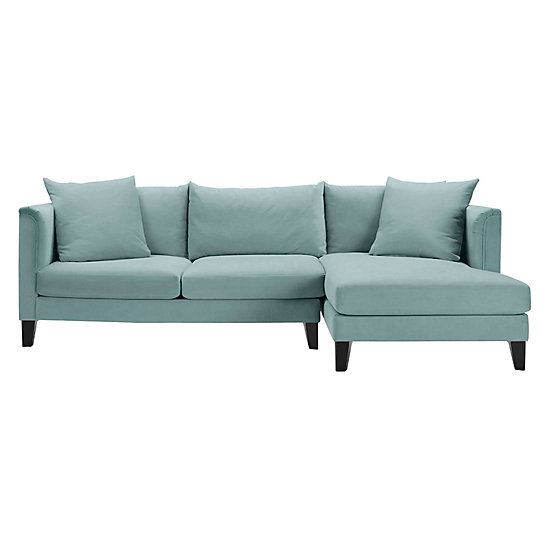 Details Soft Roll Arm Chaise Sectional - 2PC | The Details