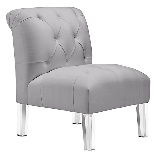 sc 1 st  Z Gallerie : grey tufted chair - Cheerinfomania.Com