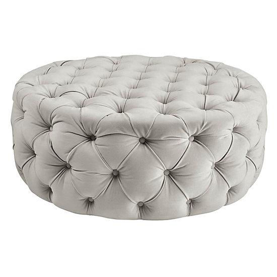 Sensational Jules Round Ottoman Alphanode Cool Chair Designs And Ideas Alphanodeonline