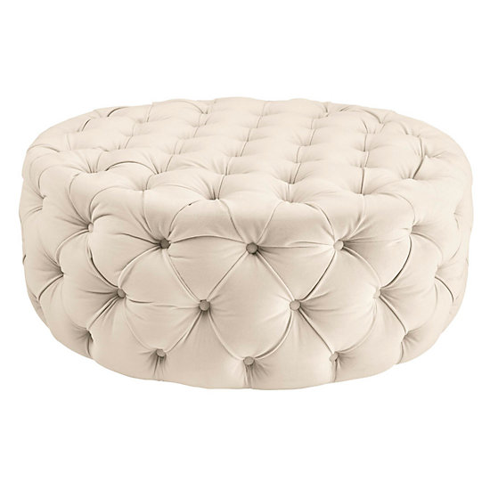 Admirable Jules Round Ottoman Ncnpc Chair Design For Home Ncnpcorg