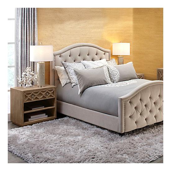 Nicolette bed ho15 bedroom4 bedroom inspiration z gallerie for Z gallerie bedroom inspiration