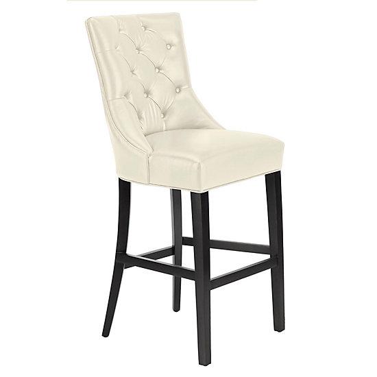 Tremendous Nottingham Leather Stool Espresso Uwap Interior Chair Design Uwaporg