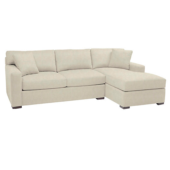 Ledersofa creme  Sofas & Sectionals | Phoenix Sectional with Chaise at Z Gallerie